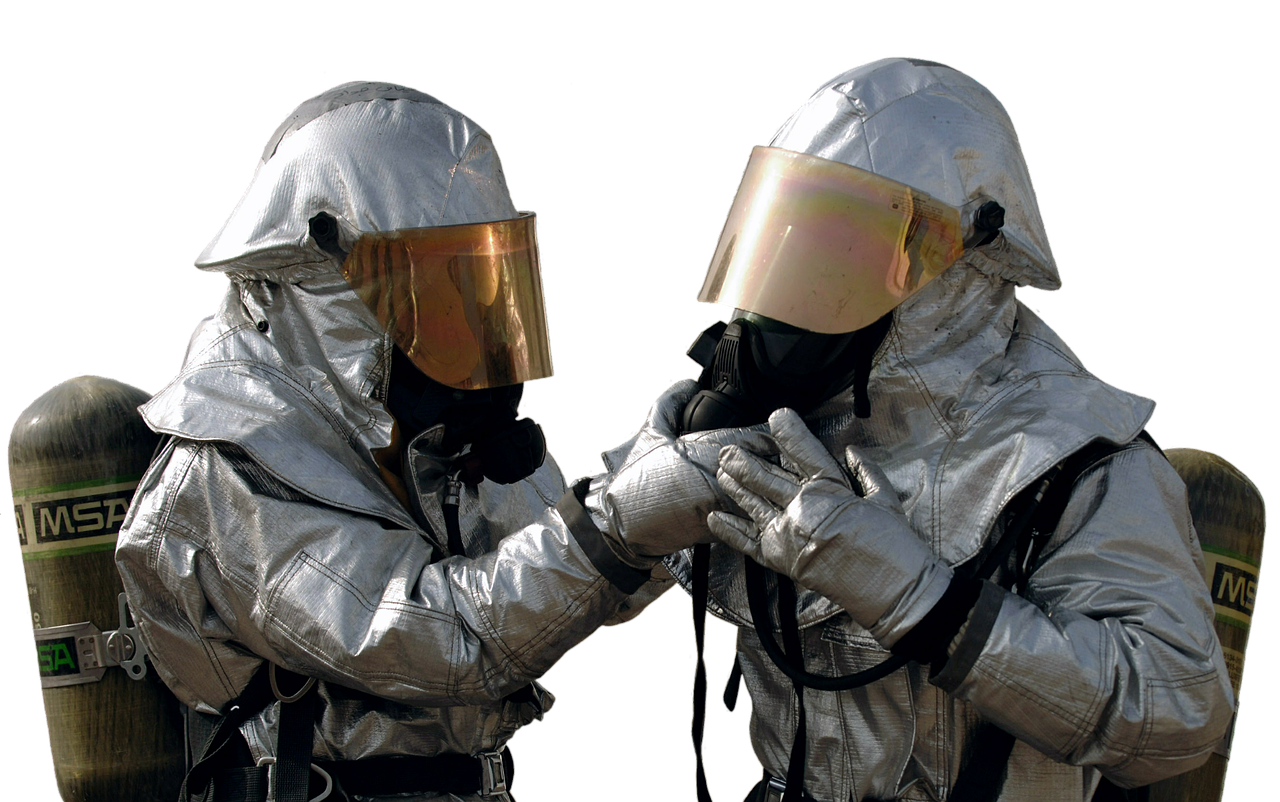 asbestos fire uniform